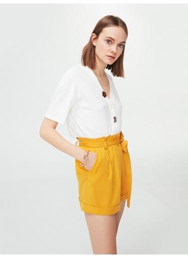 Ipekyol Şort Sarı